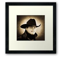 James.... Framed Print