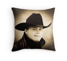 James.... Throw Pillow