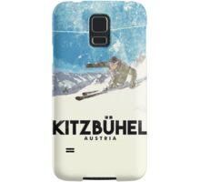Ski Kitzbühel Austria (eroded) Samsung Galaxy Case/Skin