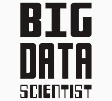 BIG DATA SCIENTIST - Self-ironic Design for Data Scientists Kids Tee