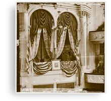 ford theatre bot Canvas Print