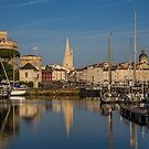France. La Rochelle. Morning Reflections. by vadim19