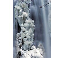 Moss Glen Falls, Stowe - Icy Column Photographic Print