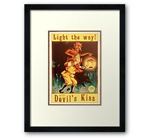 BioShock Infinite – Devil's Kiss Poster Framed Print