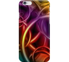 Circles and color iPhone Case/Skin