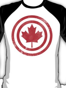 Captain Canada (Distressed) T-Shirt