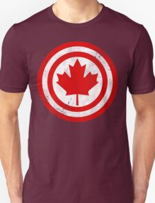 Captain Canada (Distressed) Unisex T-Shirt