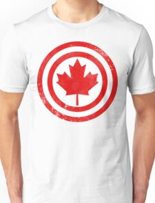 Captain Canada (Distressed) Unisex T-Shirt