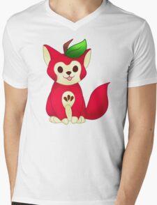 Fruit Cats: Apple Cat Mens V-Neck T-Shirt