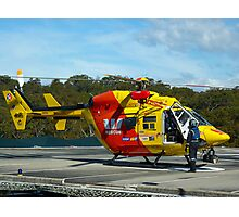 Westpac Rescue Helicopter, NSW Photographic Print