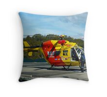 Westpac Rescue Helicopter, NSW Throw Pillow