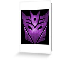 Transformers - Decepticons Greeting Card