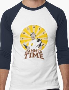 Hammer Time Men's Baseball ¾ T-Shirt