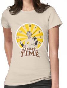 Hammer Time Womens Fitted T-Shirt