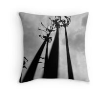 Zombie Arms at Mt. Hebron Cemetery Throw Pillow
