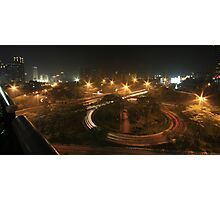 Semanggi Junction (by night) Photographic Print
