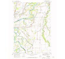 USGS Topo Map Oregon Riverside 281280 1969 24000 Photographic Print
