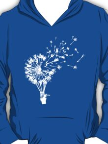 Last Man On Earth Dandelion Hot Air Balloon Tandelion T-Shirt