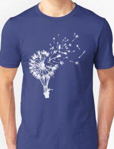 Last Man On Earth Dandelion Hot Air Balloon Tandelion T-Shirt