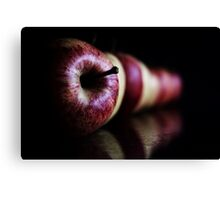 An Apple a day keeps the doctor away..... Canvas Print