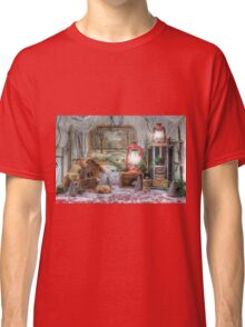 Winter At The Cabin Classic T-Shirt