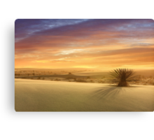 The End of Another Day in Paradise Canvas Print