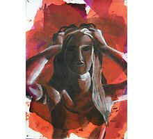 Frustration Photographic Print