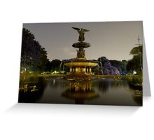 Bethesda Fountain, Central Park Greeting Card