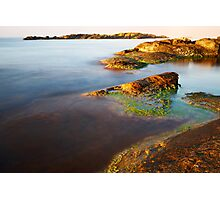 sunrise on the beauty wild coast Photographic Print