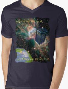 Show Me Mens V-Neck T-Shirt