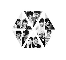 EXO LOGO GROUP by swhitewat