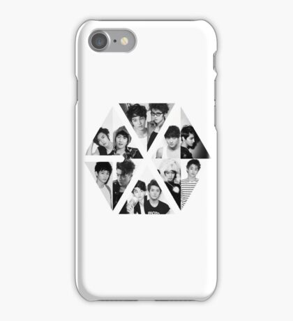 EXO LOGO GROUP iPhone Case/Skin
