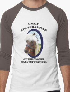 Lil Sebastian Men's Baseball ¾ T-Shirt
