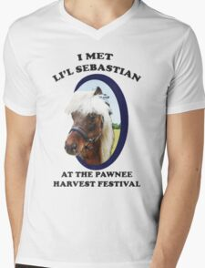 Lil Sebastian Mens V-Neck T-Shirt
