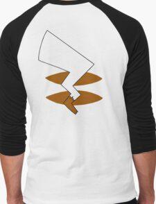 Pika Tail Men's Baseball ¾ T-Shirt