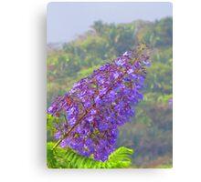 A tropical blossom in the jungle - Flor tropical en la selva Canvas Print