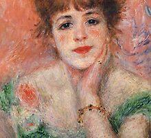 Pierre-Auguste Renoir - La Reverie by irinatsy
