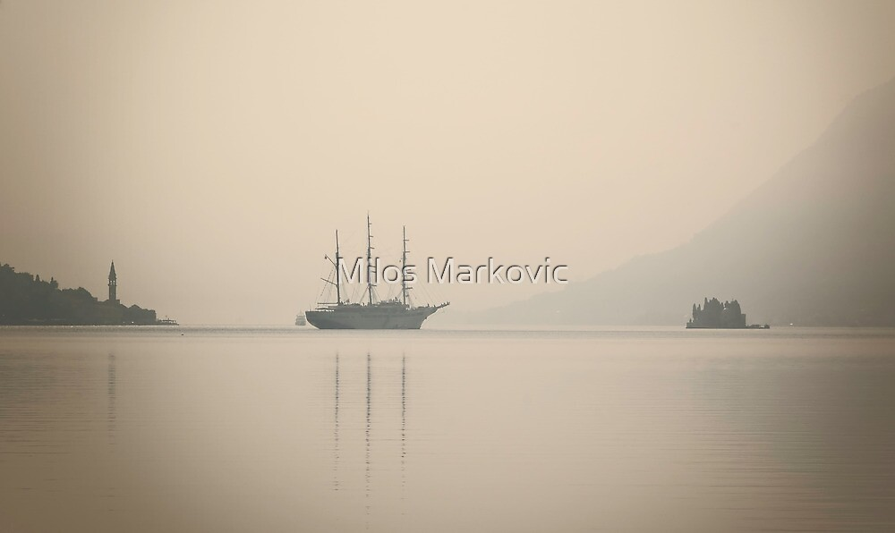 Sailing by Milos Markovic