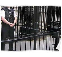 No Entry! Downing Street, London Poster