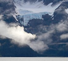 Glacier above by Walter Quirtmair