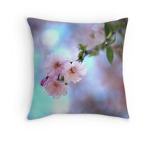 Bloom- Weeping Cherry Throw Pillow