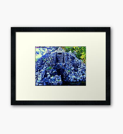 Artificial Fort Framed Print