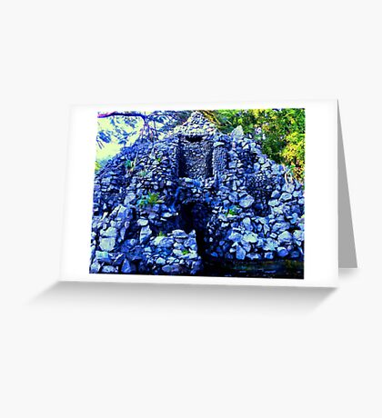 Artificial Fort Greeting Card