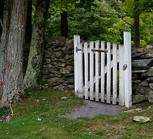 Cemetery Gate by bcollie