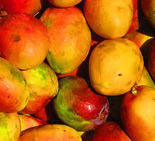 Mango - queen of the tropical fruits by Bernhard Matejka