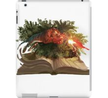 The Jungle Book - The Red Flower . ChiaraLamieri iPad Case/Skin