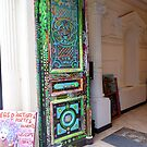 Open door at the House of Artists by bubblehex08
