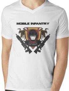 Veteran's Badge- Starship Troopers Mens V-Neck T-Shirt