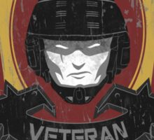 Veteran's Badge- Starship Troopers Sticker