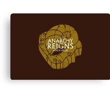 House Helix: Anarchy Reigns Canvas Print